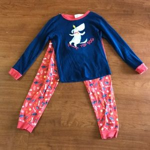 "Gymboree ""Top Dog"" Gymmies PJ set"